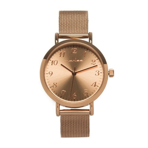 MARLEE WATCH CO | Mesh Rose Gold