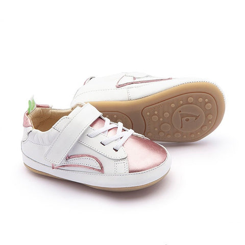 TIP TOEY JOEY | Skidy - White/Rose Gold