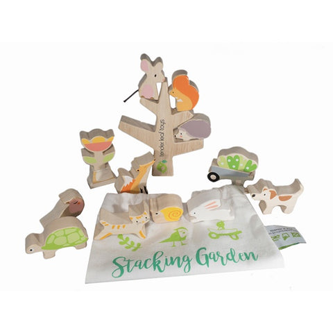 TENDER LEAF TOYS | Stacking Garden Friends