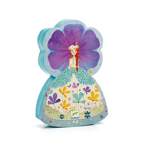DJECO | The Princess Of Spring - 36pc Silhouette Puzzle