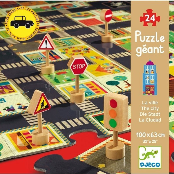DJECO | Giant Puzzle - The City