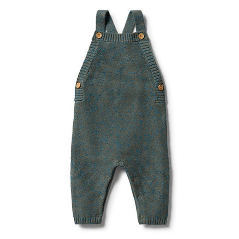 WILSON + FRENCHY | Knitted Overall Dusty Olive Fleck