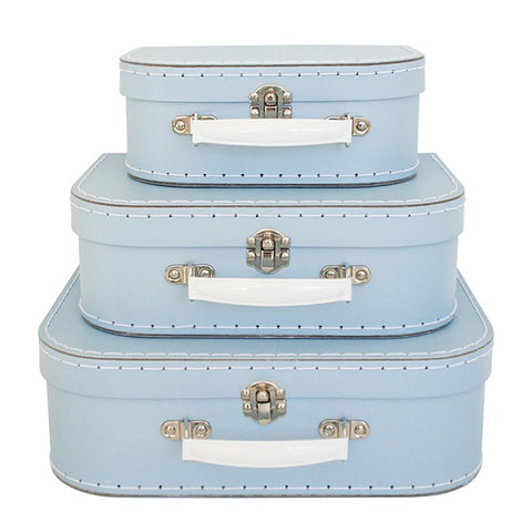 ALIMROSE | Suitcase Set - Pale Blue