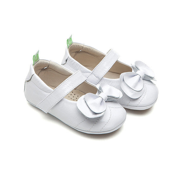 Tip Toey Joey Fancy - Patent White