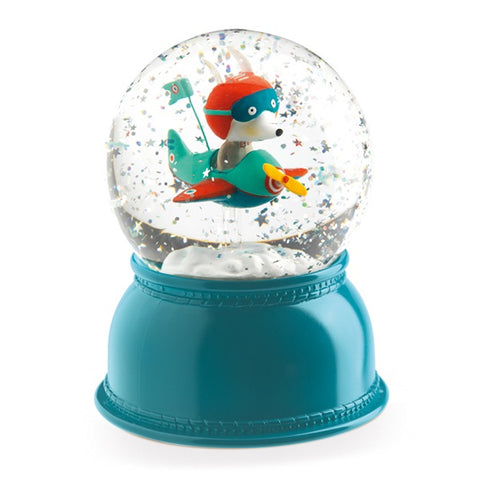 DJECO | Globe Night Light Aeroplane