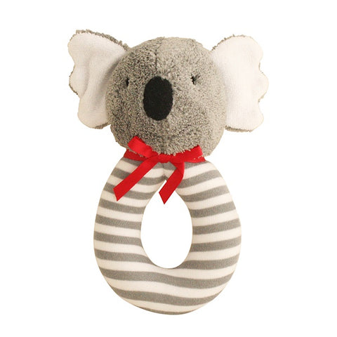 ALIMROSE | Koala Grab Rattle - Grey