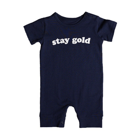 ANARKID | Stay Gold Romper