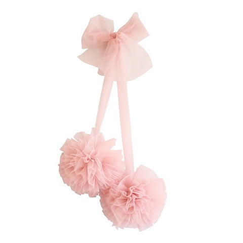 Alimrose Tulle Pom Pom Decor Set - Blush