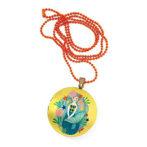 DJECO | Mermaid Locket Necklace