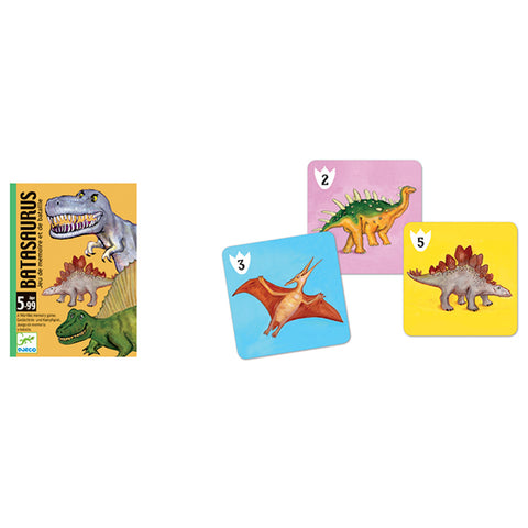 DJECO | Batasaurus Card Game