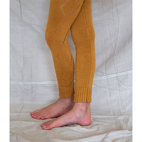 BELLA + LACE | Knitted Leggings Pumpkin Soup