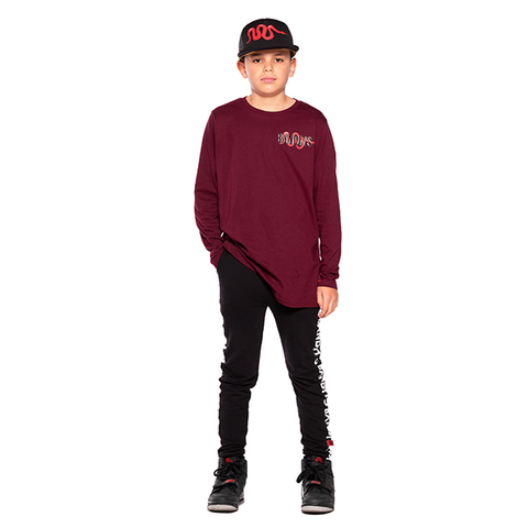 BAND OF BOYS | Red Viper Straight Hem Tee