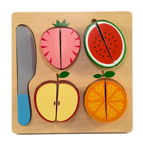 KIDDIE CONNECT | Slice The Fruit Puzzle