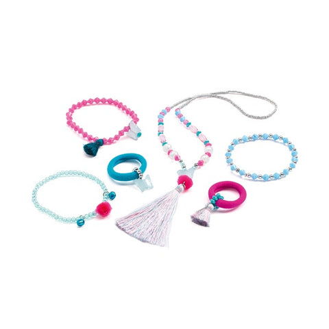 DJECO | Jewels Pom Poms And Butterflies