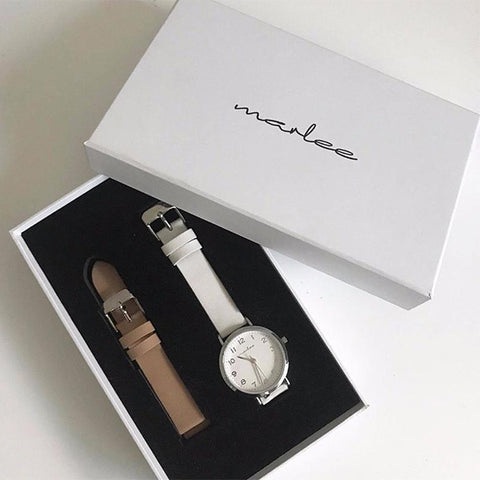 Marlee Watch Co Adult Coconut Box Set