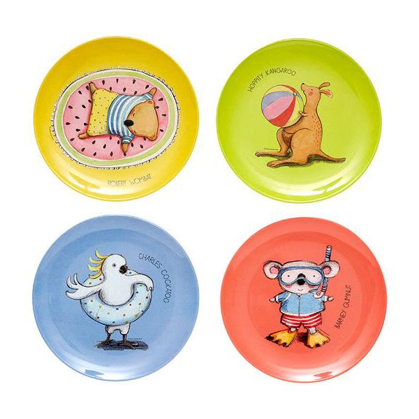 ASHDENE | Summer With Barney Assorted Plate Set Of 4