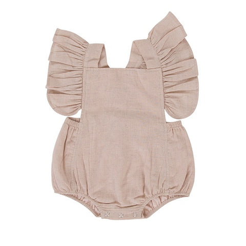 PEGGY | Ling Playsuit Dusty Pink