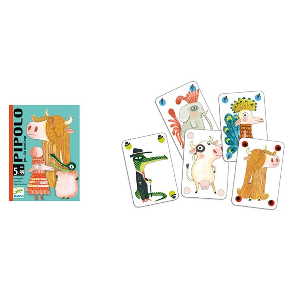 Pipolo Bluffing Card Game