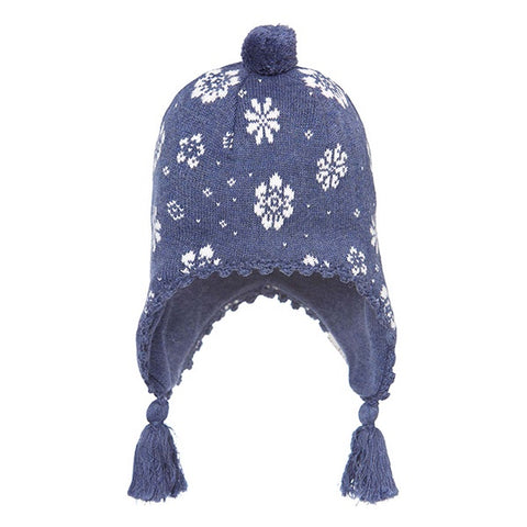 Toshi Earmuff Floral - Navy