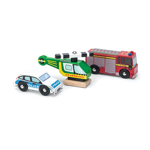 LE TOY VAN | Emergency Vehicles Set