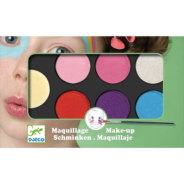 6 Colours Face Painting Palette - Sweet