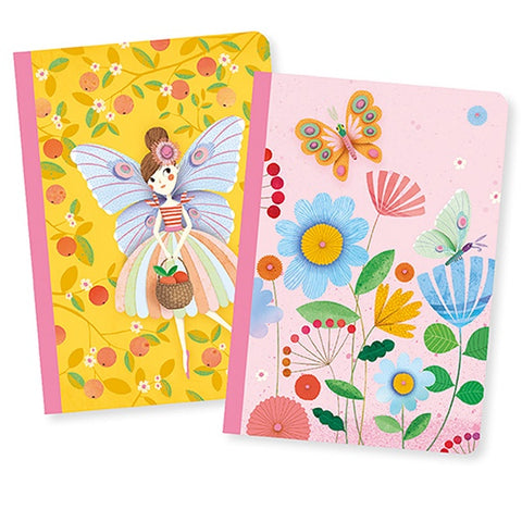 DJECO | Rose Set of 2 Little Notebooks