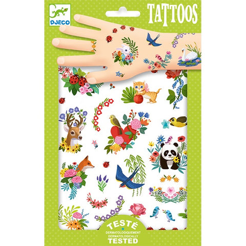 DJECO | Happy Spring Tattoos