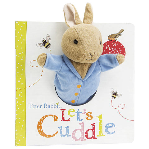 Peter Rabbit Let's Cuddle- Puppet Play Book