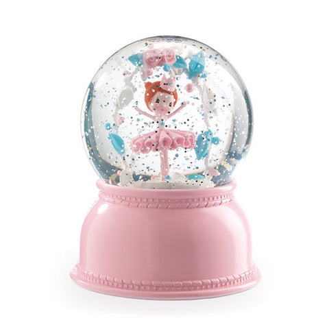 DJECO | Globe Night Light Ballerina