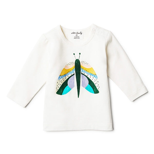 WILSON + FRENCHY | Flutter By Long Sleeve Top