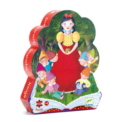 DJECO | Snow White - 50pc Silhouette Puzzle