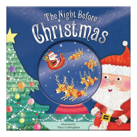 The Night Before Christmas: Christmas Glitter Globe Book