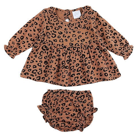 ALEX & ANT | Ellie Set - Rust Leopard