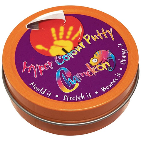 CHAMELEON COLOUR CHANGE | Hyper Colour Putty