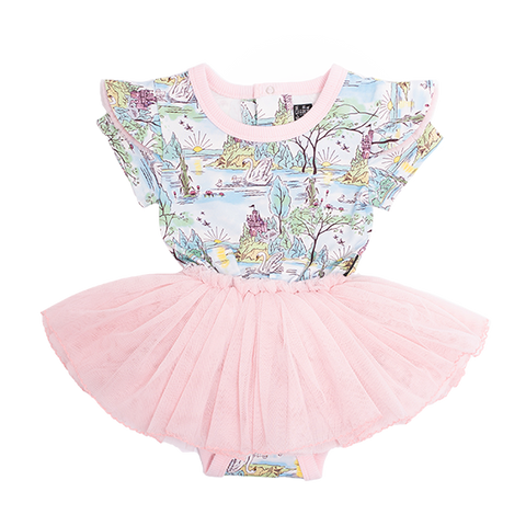 ROCK YOUR BABY | Swan Castle Baby Circus Dress