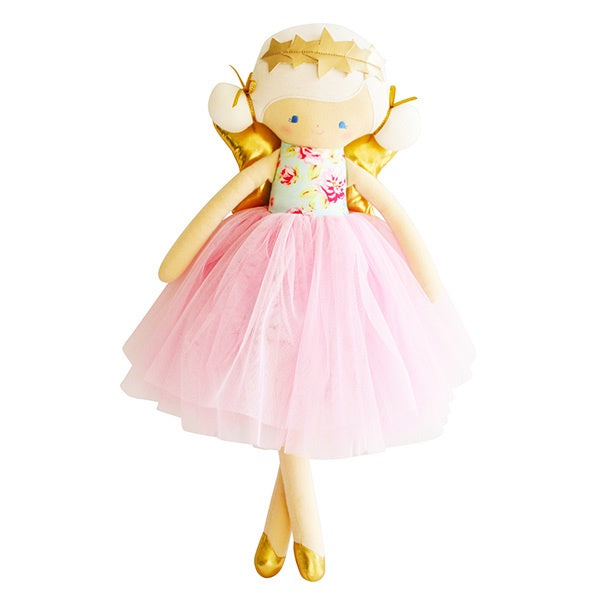 ALIMROSE | Willow Fairy Doll - Blue Pink