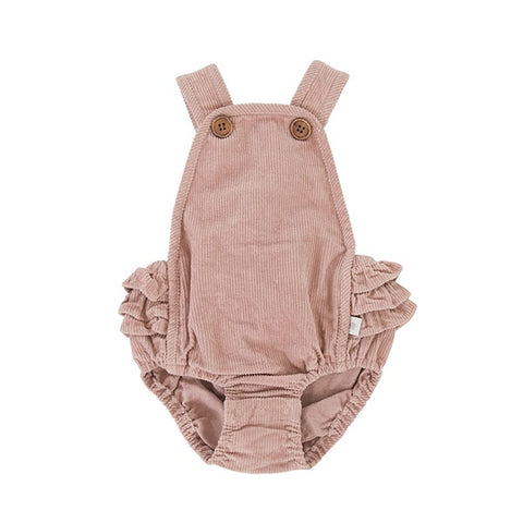 PEGGY | Jane Playsuit Pink Cord