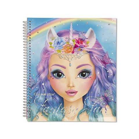 FANTASY MODEL | Fantasy Face Colouring/Activity Book