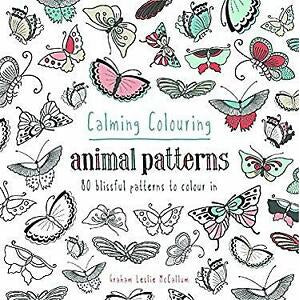 Calming Colouring: Animal Patterns