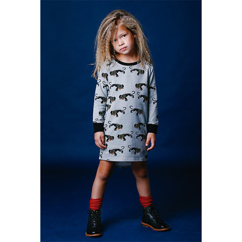 Rock Your Baby Jaguar LS T-Shirt Dress
