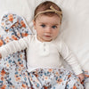 SNUGGLE HUNNY KIDS | Pebble Velvet Bow
