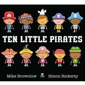 Ten Little Pirates B/B