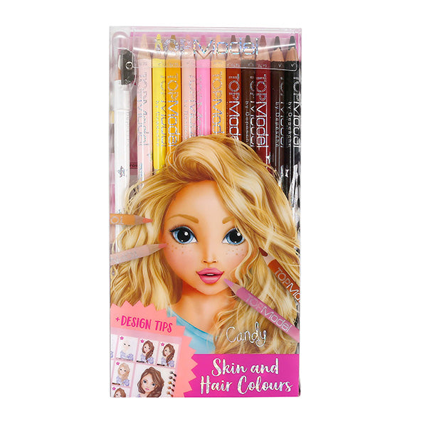 TOP MODEL | Natural Coloured Pencil Set of 12