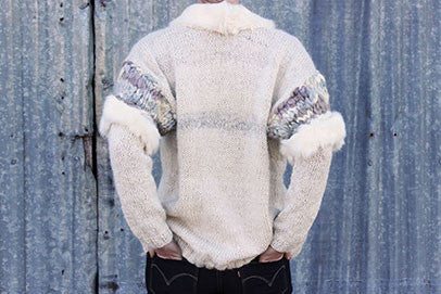 Handmade wool sweater