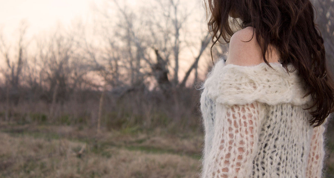Handmade wool sweaters