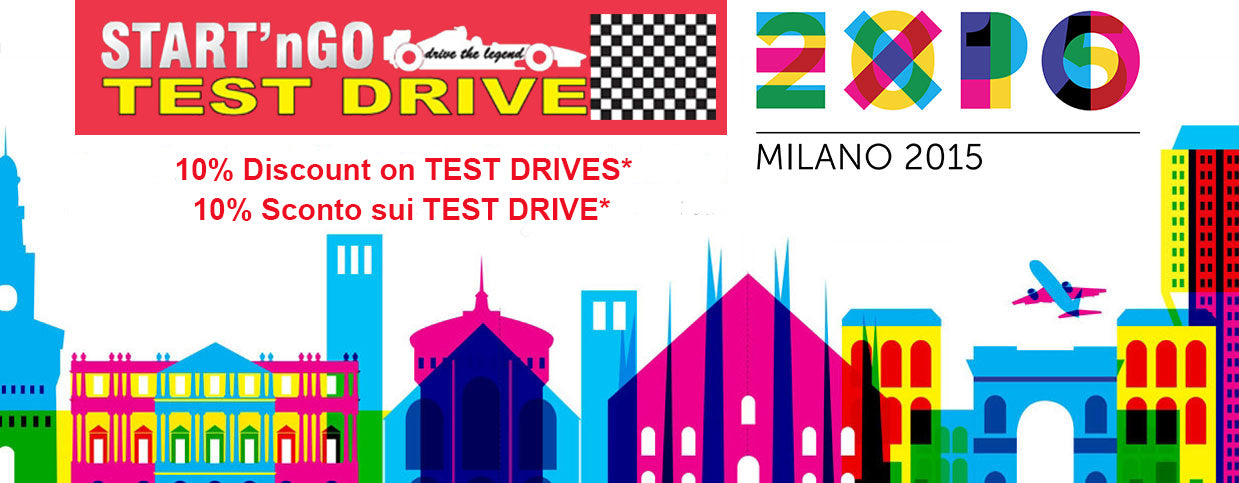 Expo 2015 Test Drive Discount Offer