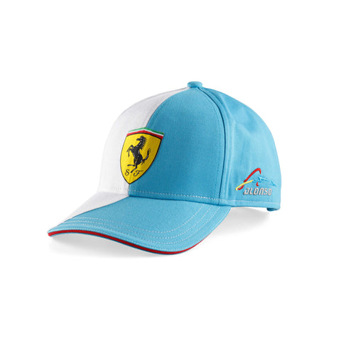 TWO COLORS ALONSO CAP Blue - White