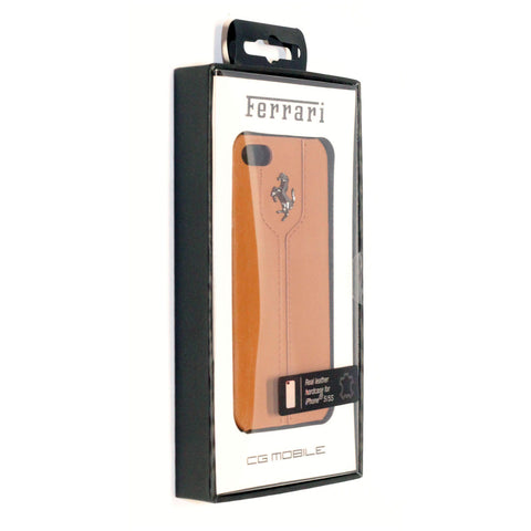 596 CAMEL LEATHER HARD CASE