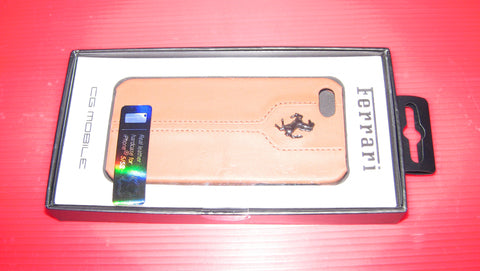 MONTECARLO HARD CASE LEATHER Camel