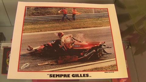 Postcard incidente Imola